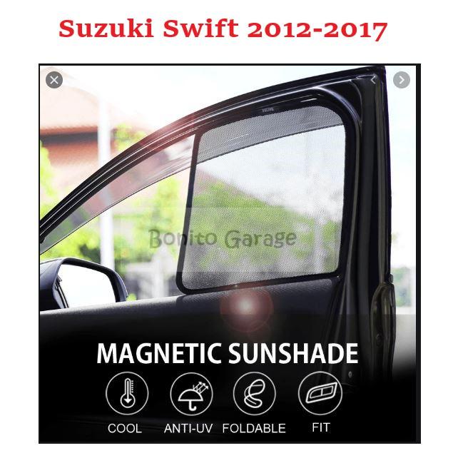 Magnetic Sunshade Suzuki Swift 2012-2017 4pcs
