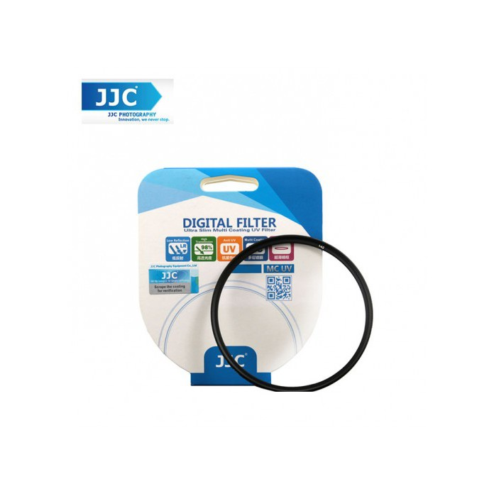 JJC A+ F-MCUV77 MC UV Ultra Slim Filter 77mm for Camera Lens (Japan AGC Glass)