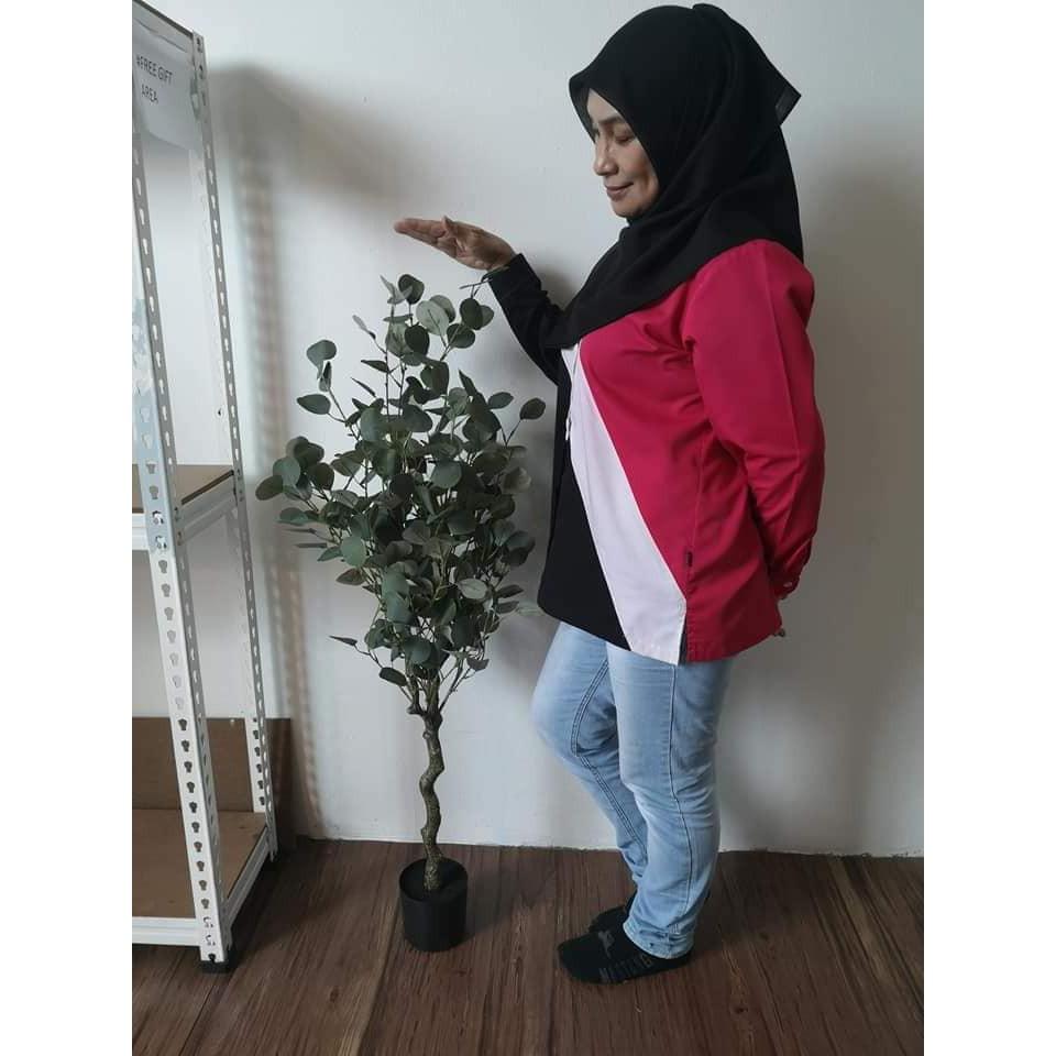 [PREMIUM] SYAQIST ARTIFICIAL EUCALYPTUS PLANT . READY STOCK . GRED PREMIUM A+ . DAUN TEBAL