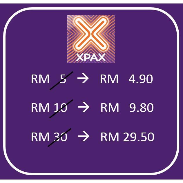 Celcom Xpax Topup Fast Reload Recharge Tambah Nilai Murah