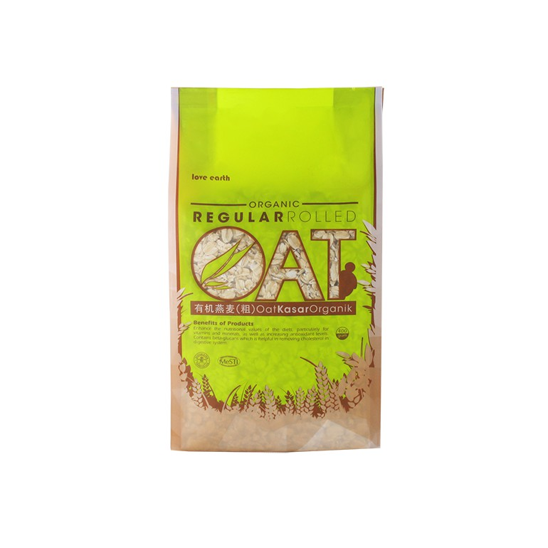 Organic Regular Rolled Oat 400g