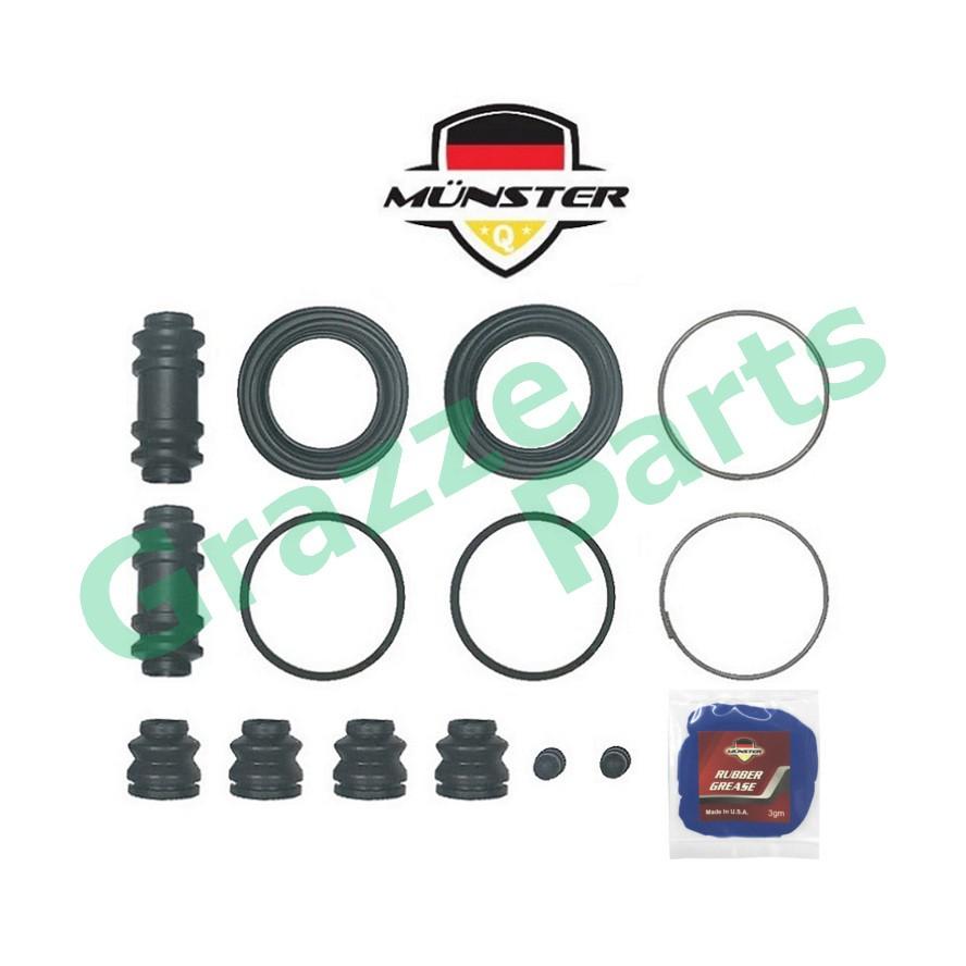 Münster Disc Brake Caliper Repair Kit (Full Set) Front for 04479-87204 - 51.5mm Perodua Kancil 850