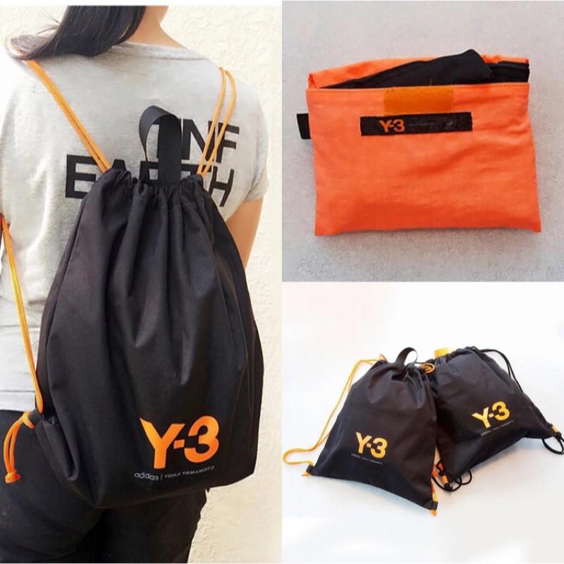 e4f0df7bd0 adidas love dida Y3 waterproof folding portable nylon Drawstring Backpack  bag
