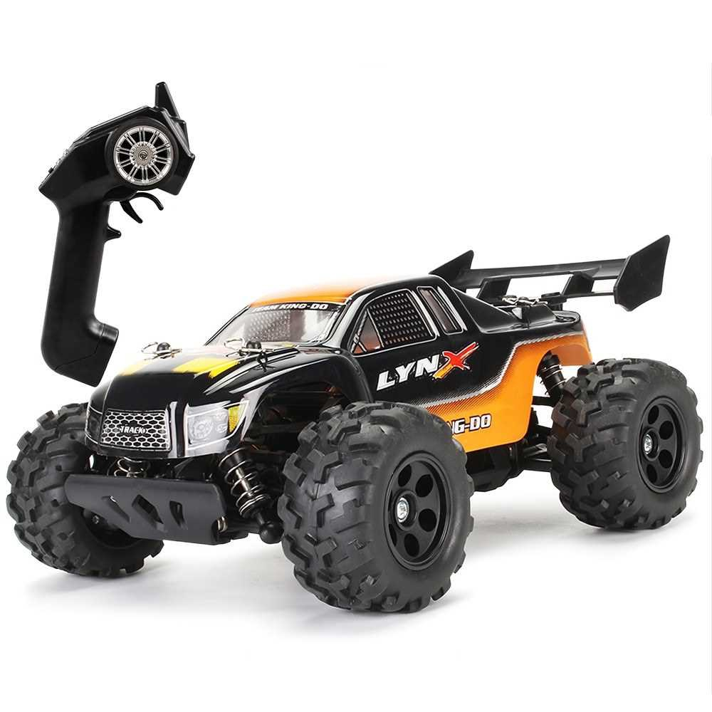 Great Discount KYAMRC S600 1/22 2.4G 30KM/h 4WD Remote Control High Speed Pickup Truck RC Car (Orange)