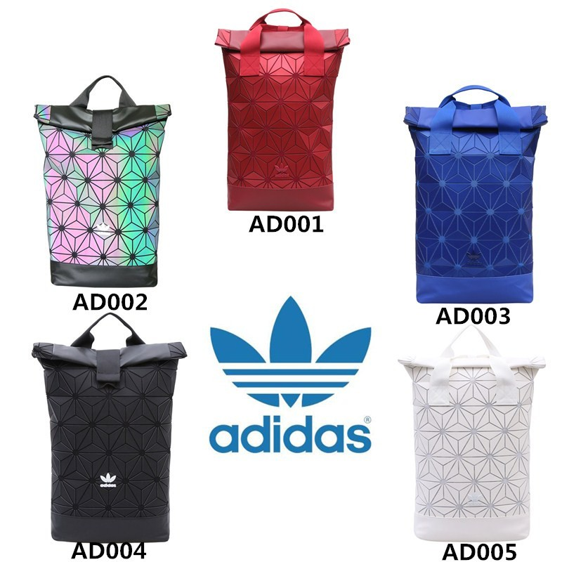 AUTHENTIC100%  Adidas 3D Mesh Roll Top Backpack  Issey Miyake Style Bag  Fashion  b02b81ed4cbbf