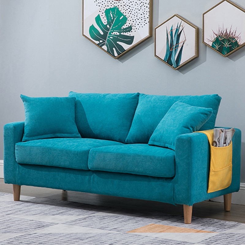 Simple Fabric Sofa Modern Small Apartment Living Room