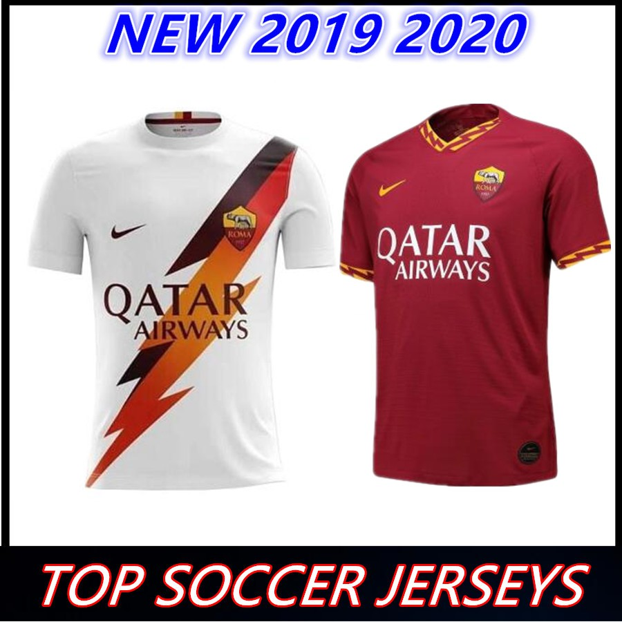 quality design b3570 00365 2019 2020 roma soccer jersey rome jerseys 19 20 home away football shirts