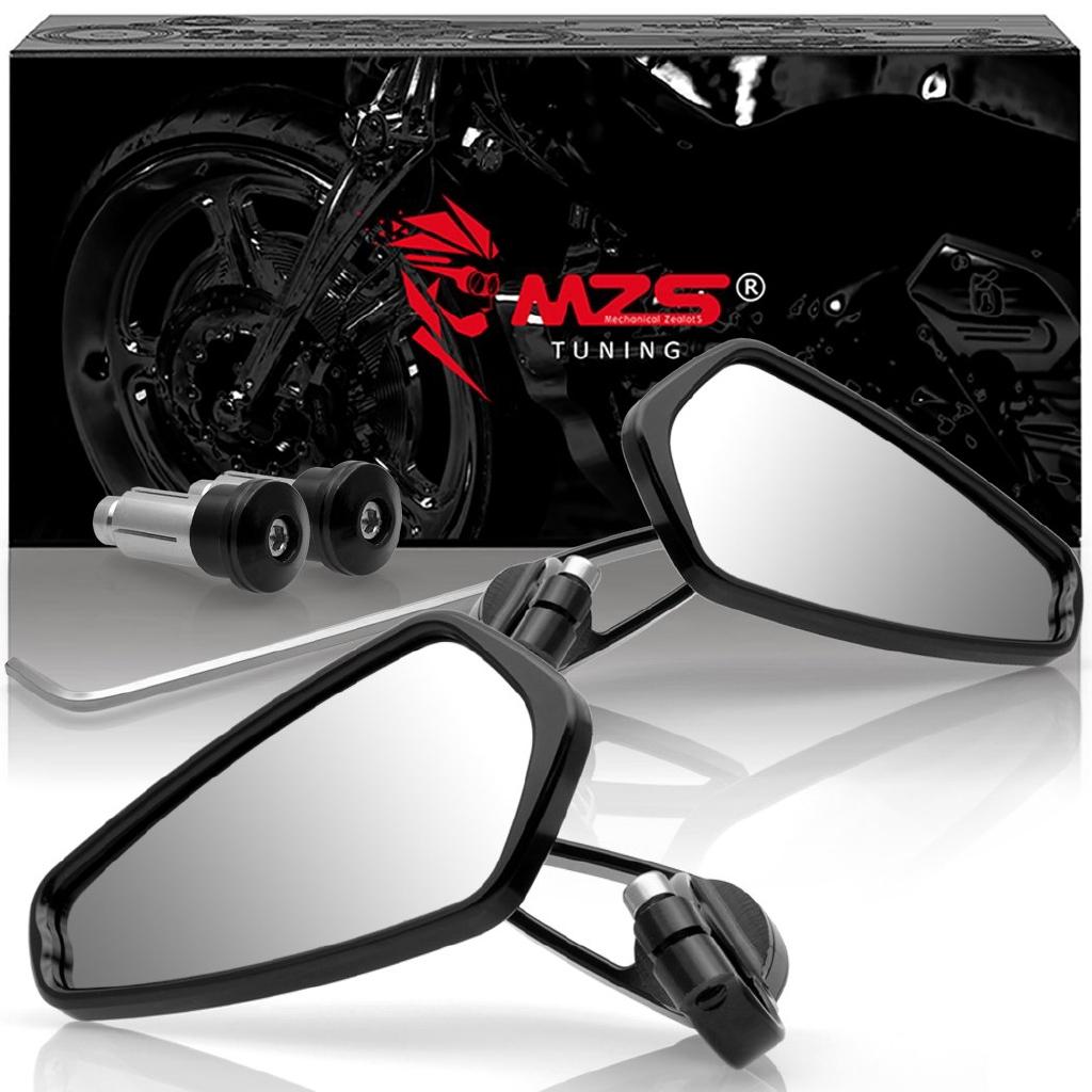 8mm 10mm Motorbike Rearview Mirrors For 2015 2016 2017 Kawasaki Z125 Z125 Pro