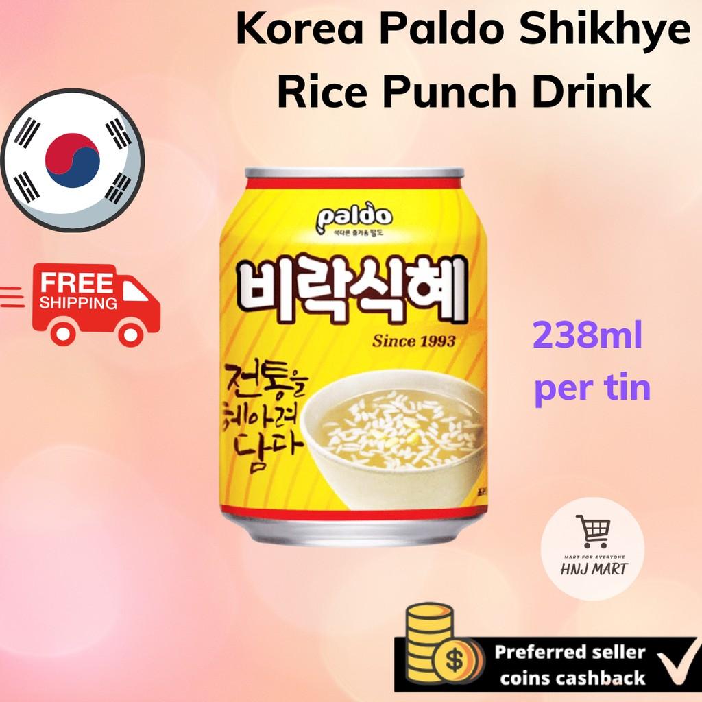 Korea Paldo Shikhye Sweet Rice Drink 238ml Sikhye Rice Punch 八道韩国食醯甜米露米水 Paldo Shikhye/Sikhye Sweet Rice Drink