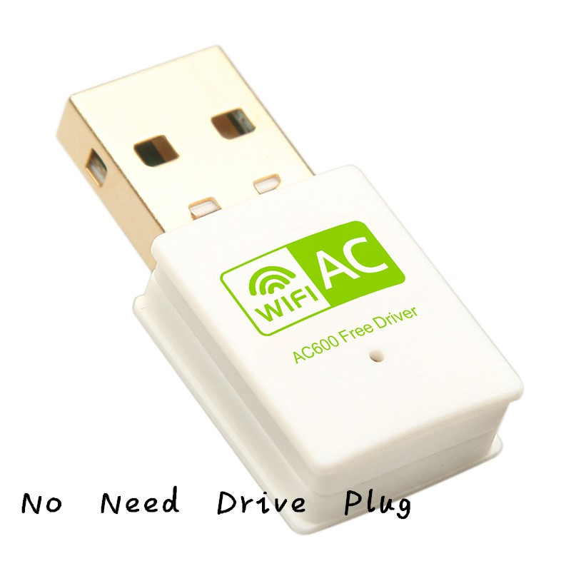 New Arrival!Dual Band 600Mbps Wireless Wifi Adapter Usb Network Card Wifi  Dongle