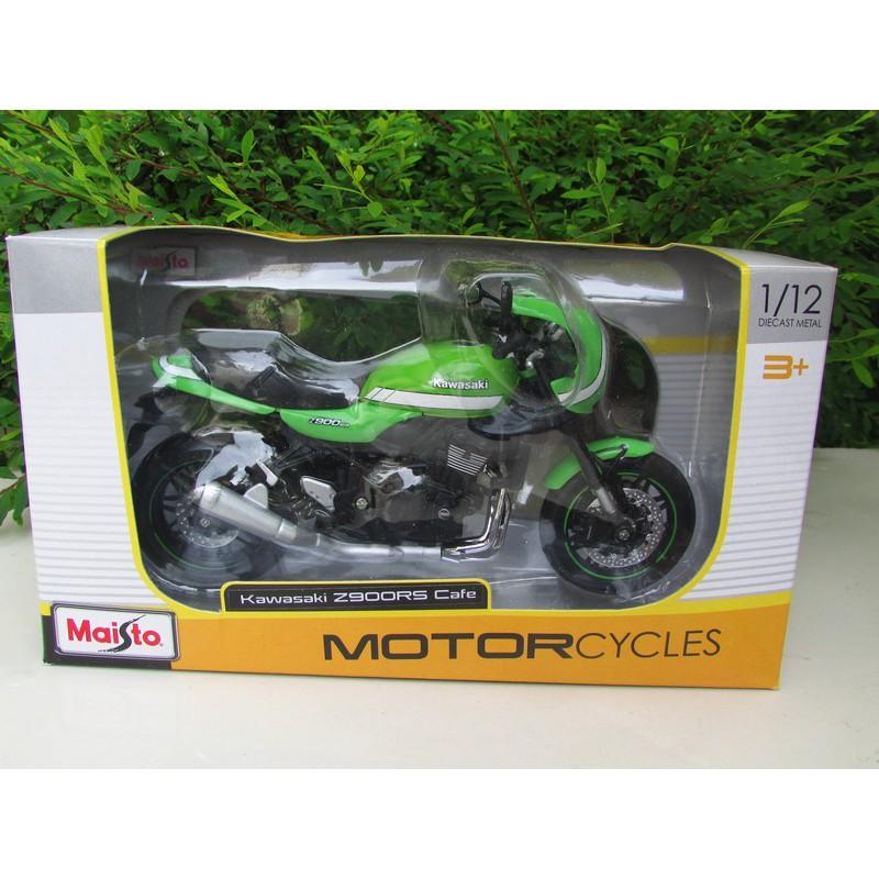MAISTO 1:12 2018 Kawasaki Z900RS Green MOTORCYCLE BIKE DIECAST MODEL NEW IN BOX