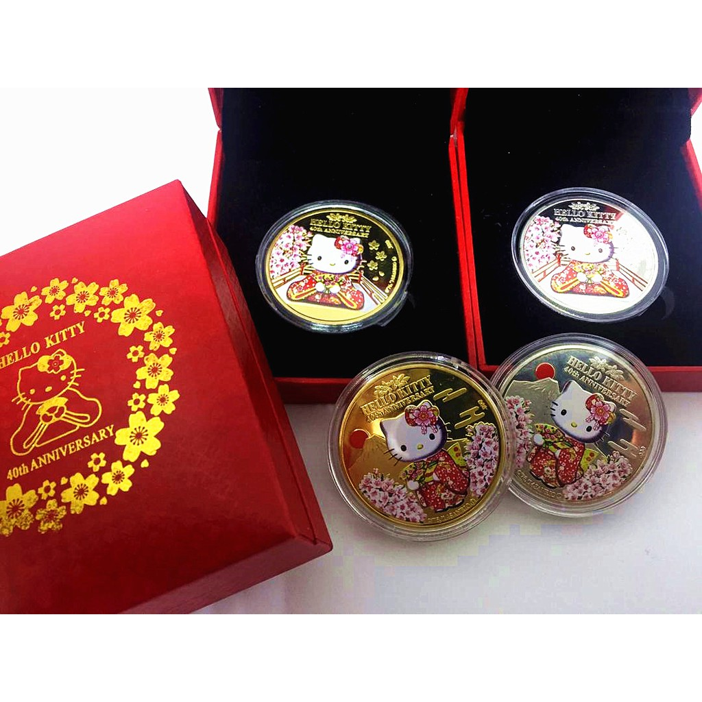 Limited Edition Hello Kitty Golden Coin