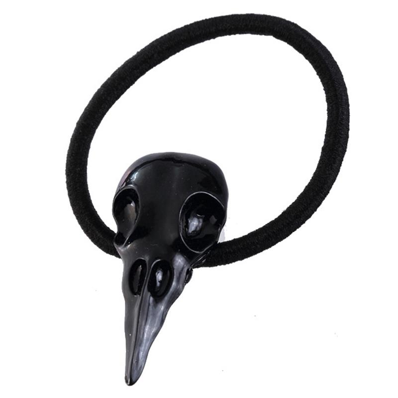 Halloween Black Raven Hair Clip