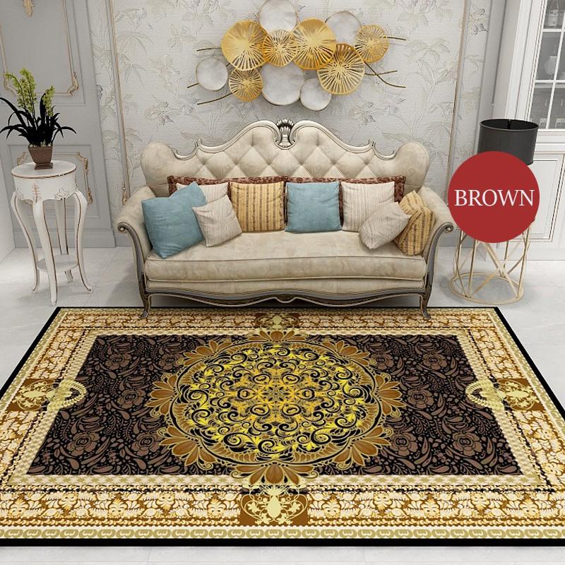 GDeal European Style Luxury Modern Design Large Floor Mat Non Slip Living Room Carpet (160CM x 230CM)