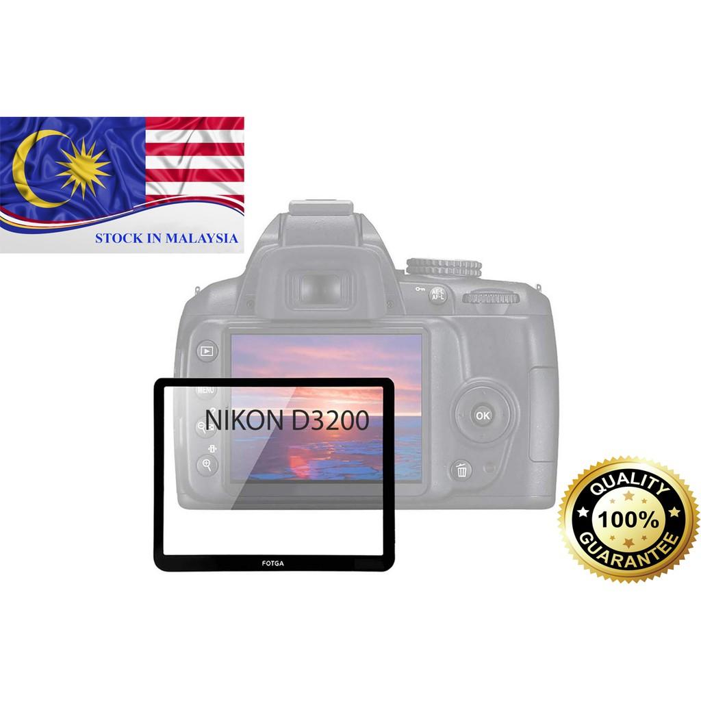 FOTGA LCD Hard optical glass Screen Protector For Nikon D3200(Ready Stock In Malaysia)