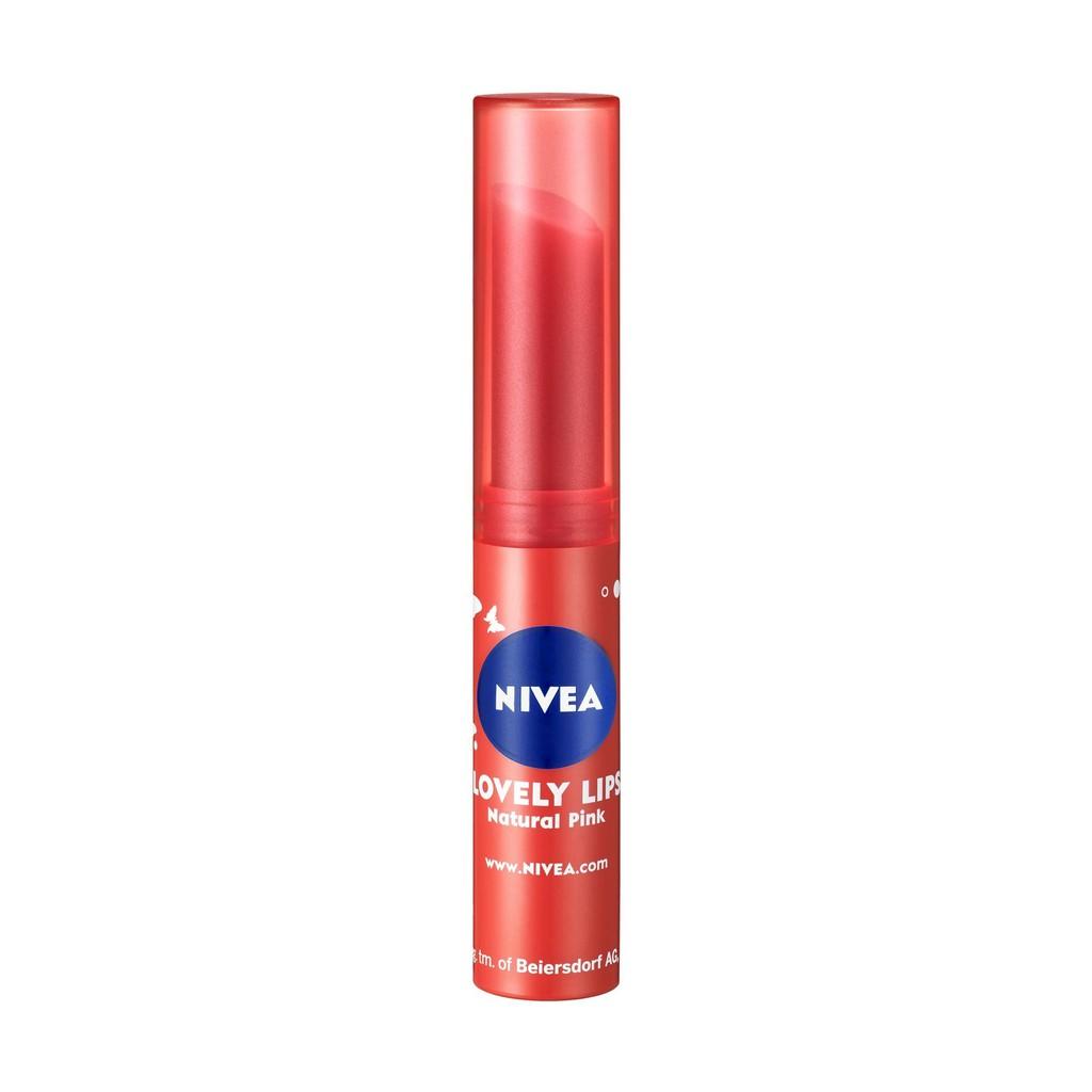 Nivea Pearly Shine Caring Lip Balm Shopee Malaysia 48g