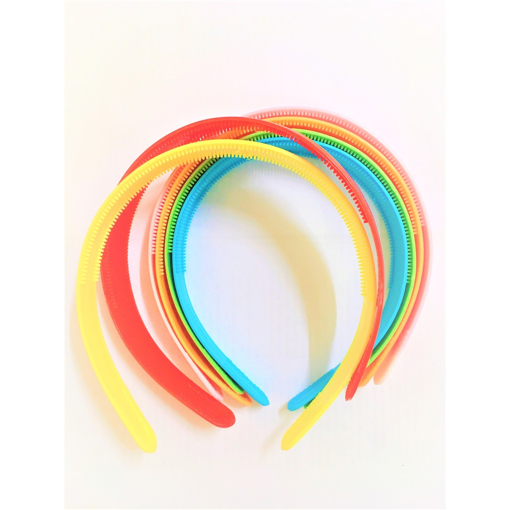 Plastic Wide Hairbands Alice Hair Band Headband Plain Headbands with Teeth for Crafts Women Girls Kids Hair Accessories