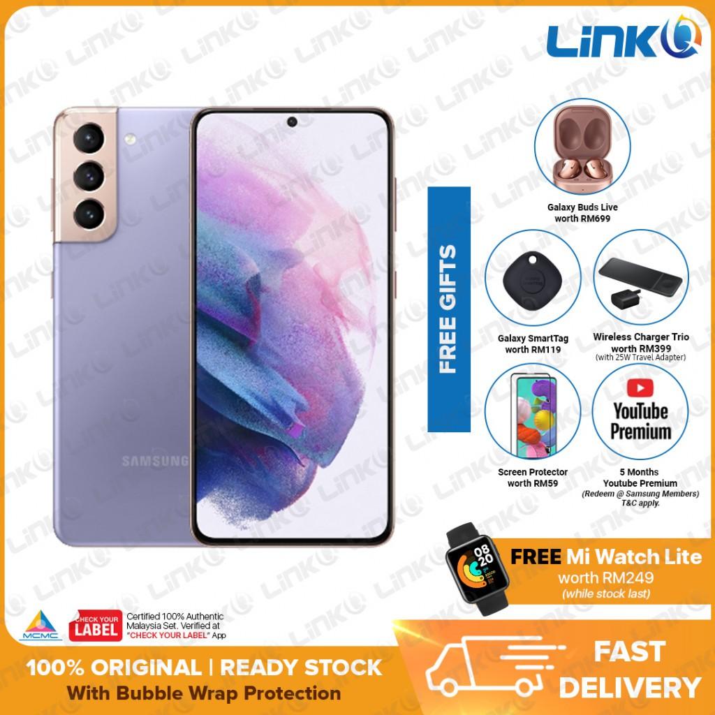 [PRE ORDER] Samsung Galaxy S21+ 5G (8GB RAM + 256GB ROM) Smartphone - Original 1 Year Warranty by Samsung Malaysia