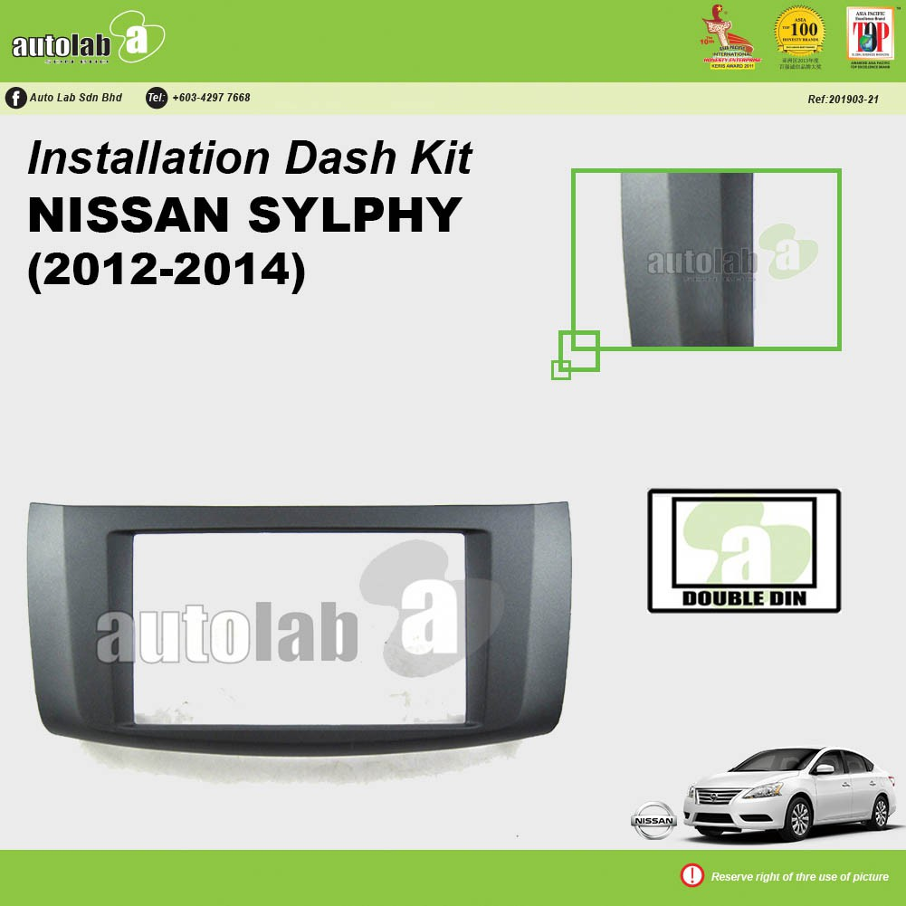Player Casing Nissan Sylphy 2012-2015