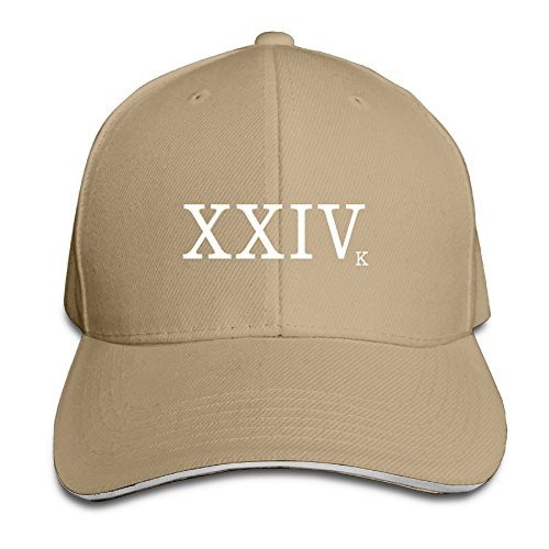 Bruno Mars Baseball Cap XXIV Hat 24k Magic Logo Embroidery Uptown Punk Gift   17bd0e2b2eb