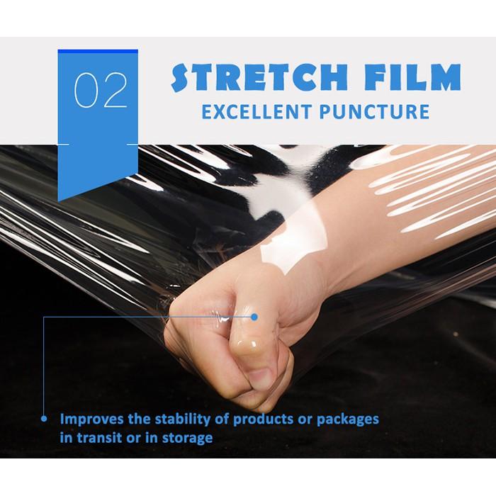100MM Mini Roll Stretch Film Transparent Baby Roll