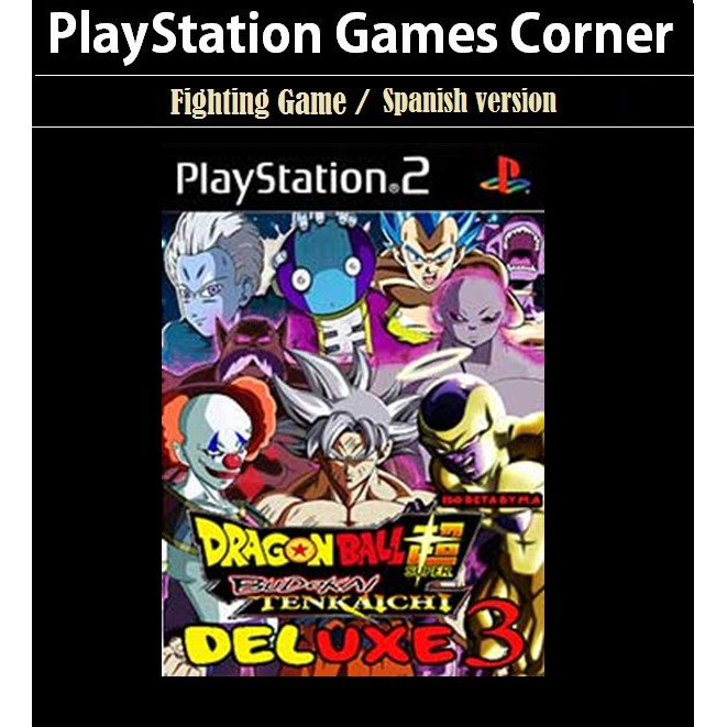 PS2 Game Dragon Ball Z Budokai Tenkaichi 3 Super Deluxe, Spanish version, Fighting Game / PlayStation 2