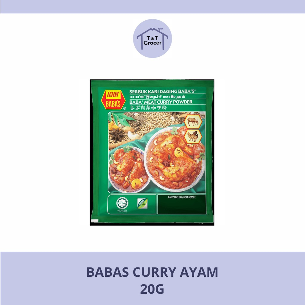 Babas Kari Ayam Powder 25g <Wholesale>