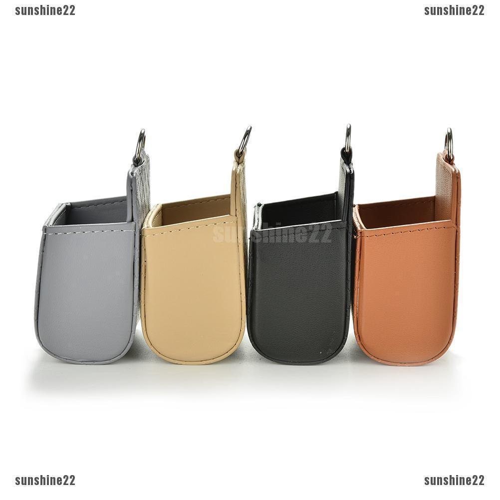 SUN22 Car Seat Back Tidy Storage Coin Bag Case Organizer Holder
