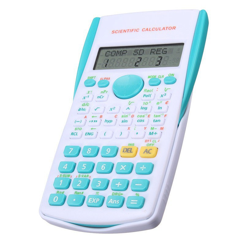 Scientific Calculating Calculator 12 Digits Display Multi Function for  Student LKJH