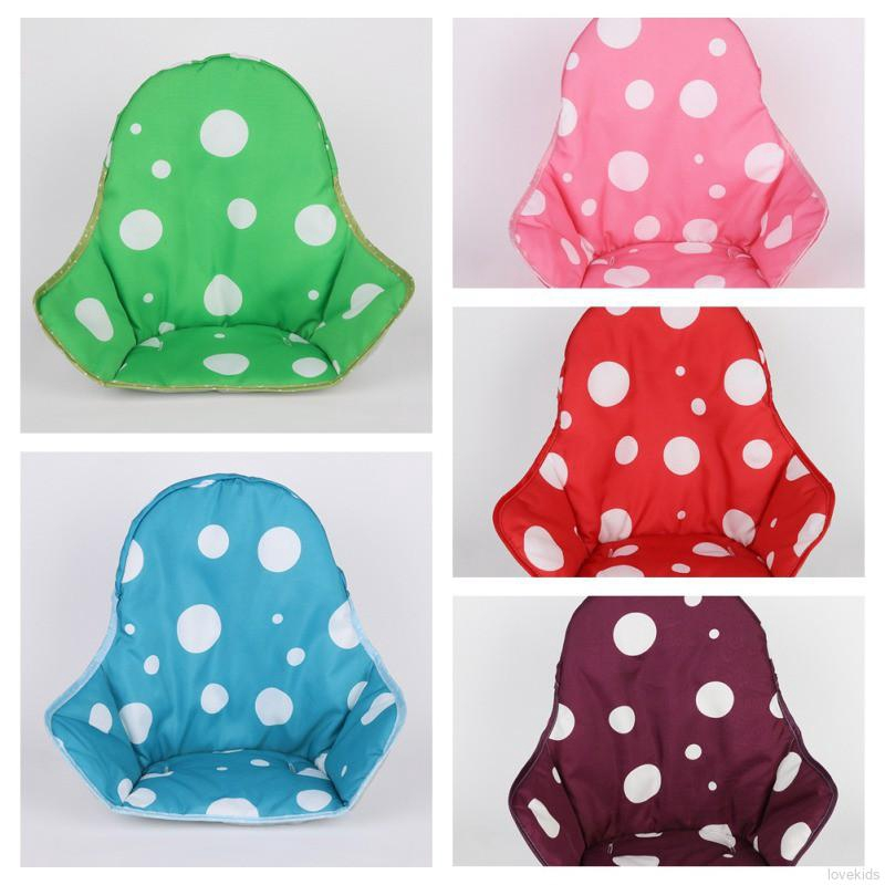 Lovekids Baby Dots Breathable Water Resistant High Chair Seat Cushion Cover Pad Protector