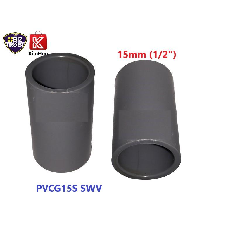 High Quality PVC Socket SWV 15, 25 & 40mm