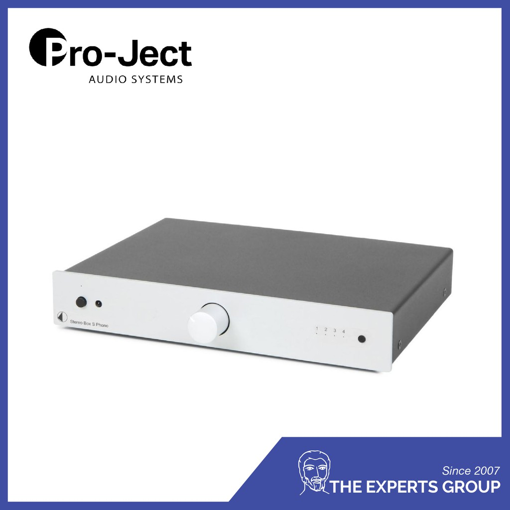 Pro-ject Stereo Box S Phono (Silver)