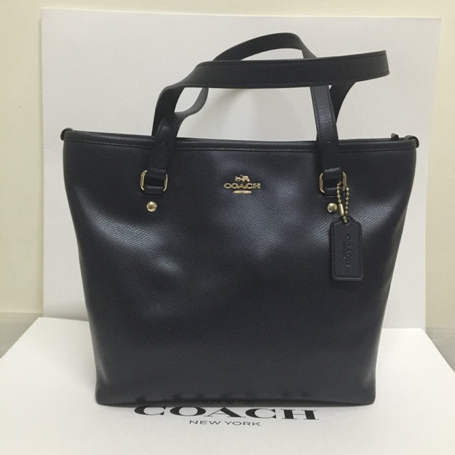 981332b927511 CHARLES FLIGHT BAG IN SMOOTH LEATHER COACH F54782