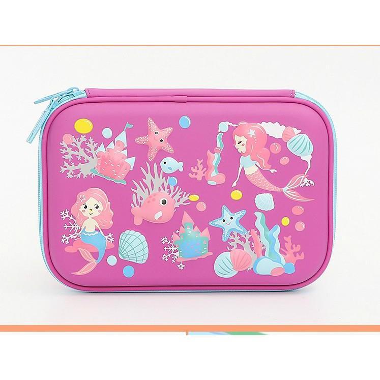 Pink Mermaid EVA Multi Function Pencil Case