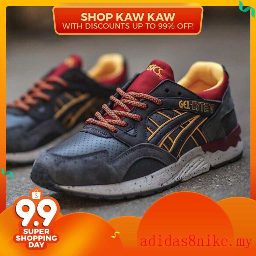 brand new 4c921 2fa1f Asics Gel Lyte V5 men for women swine fashion casual sports running flat  shoes
