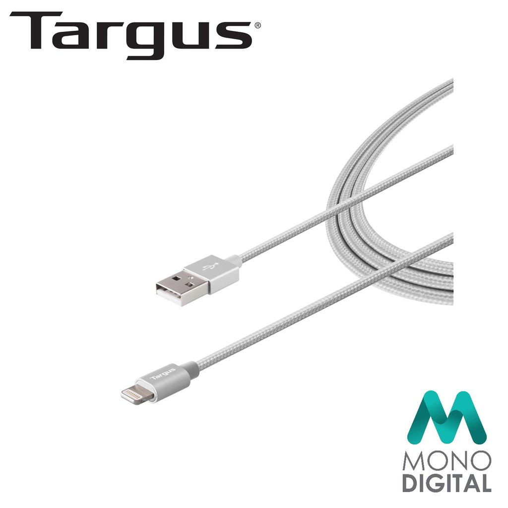 Targus Aluminium Series Lightning To USB 1 2M Cable - ACC994