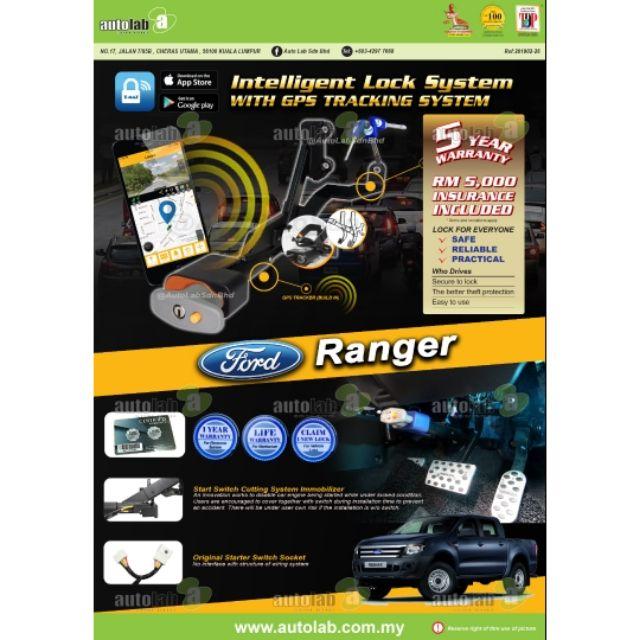 Tmaz GPS Pedal Lock Ford Ranger