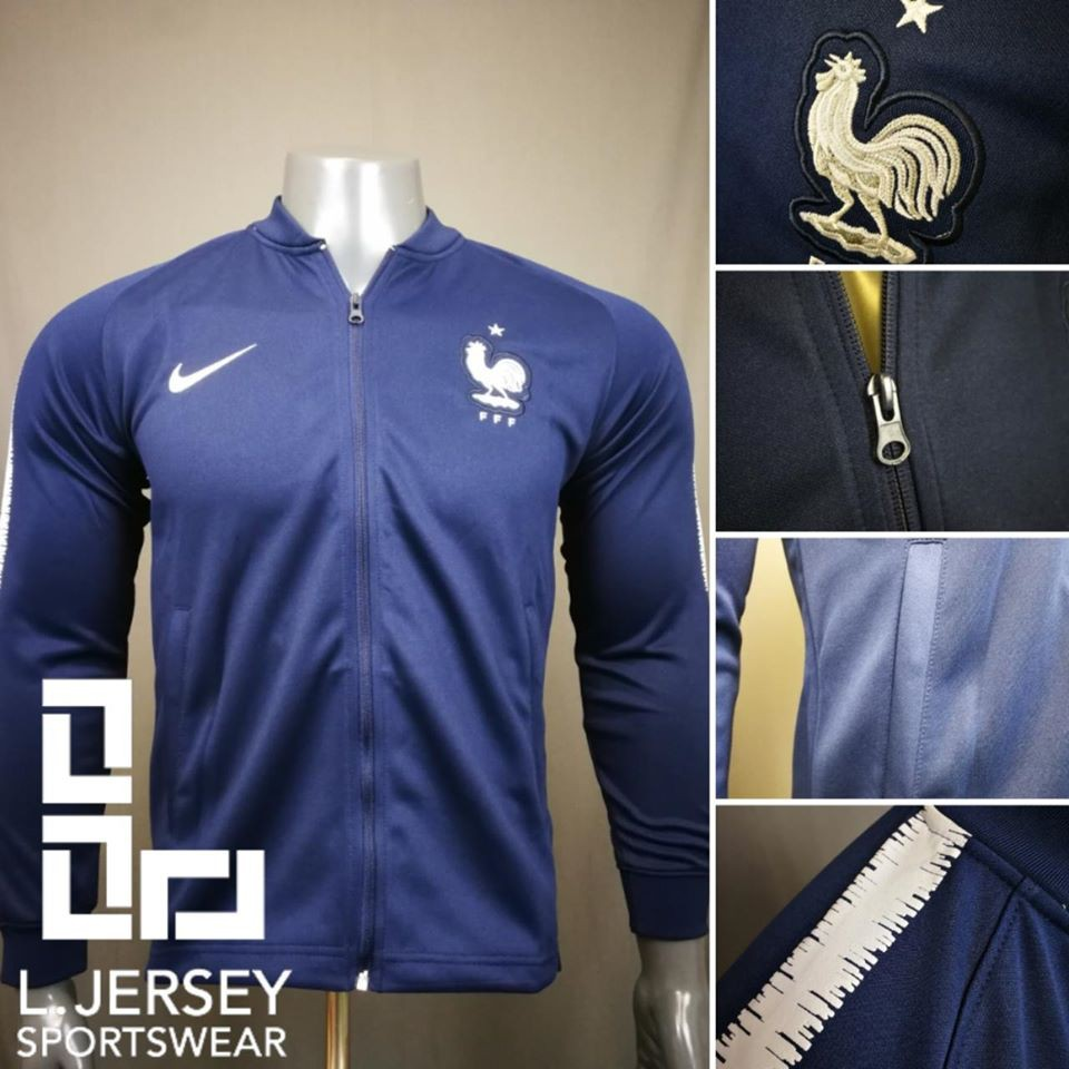 France Tracksuit Blue World Cup 2018