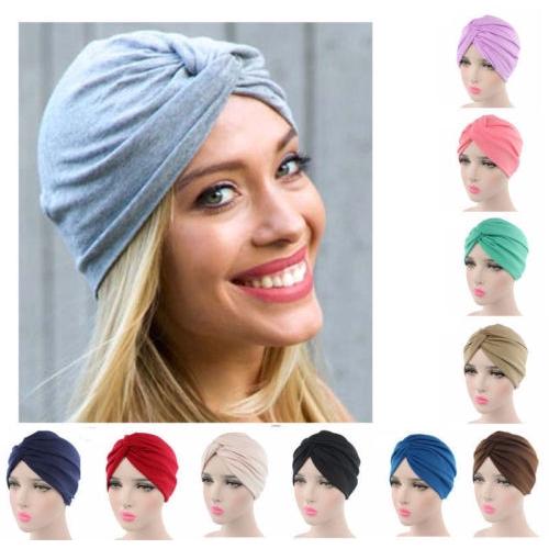 5dd60c114dd  COD  women 8 colors Turban headband cap