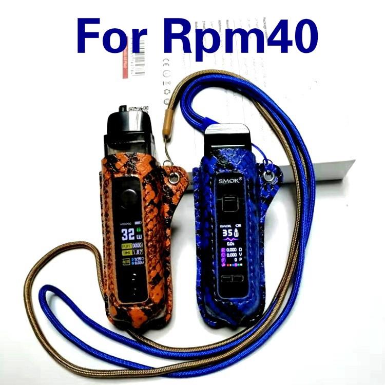 Smok RPM40 Leather Case Casing Cover Anti-lost Anti-slip Accessiorise