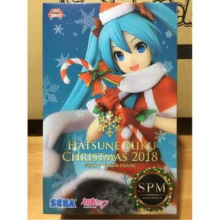 Hatsune Miku Christmas 2018.Sega Vocaloid Spm Figure Hatsune Miku Christmas 2018