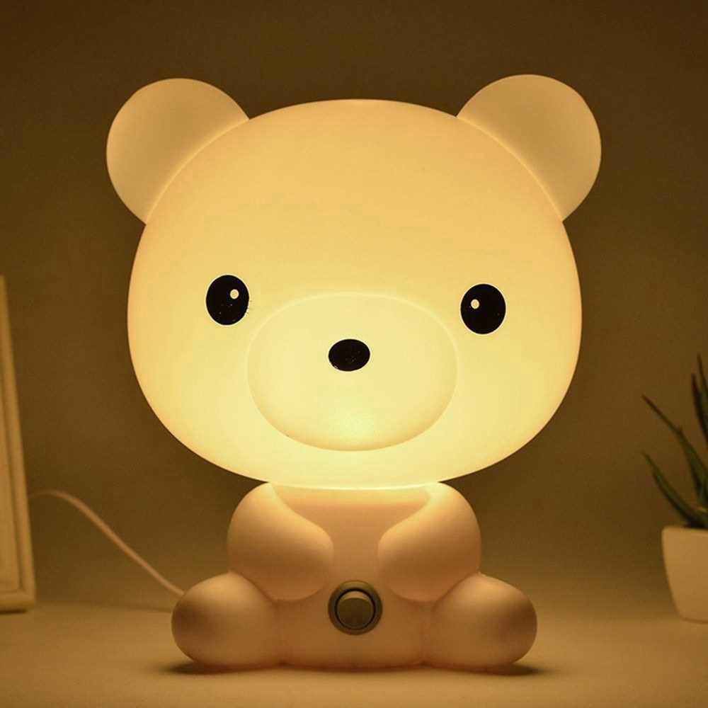 Rechargeable Cute Night Sleeping Lamp