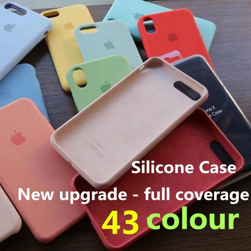(hot) apple xsmax army green iphone67/8 plus protective cover hard four corners | Shopee Malaysia