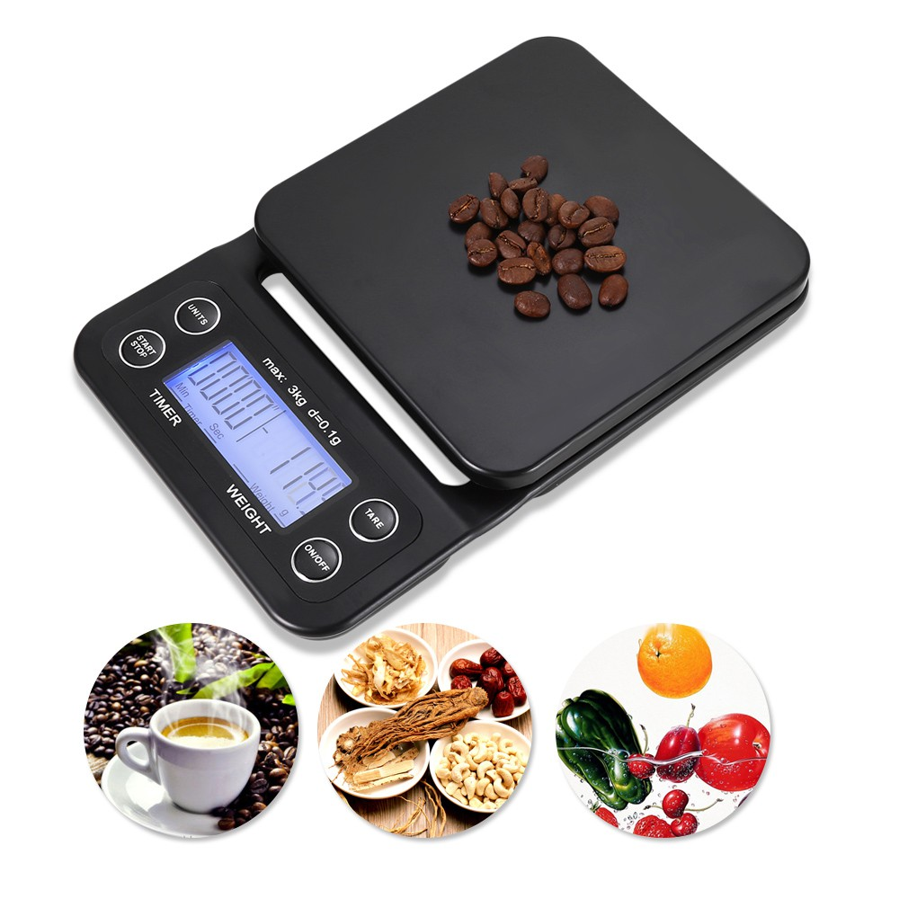 Feic Hario V60 Vst 2000b Smart Weigh Digital Kitchen Scale 2000g Drip Shopee Malaysia