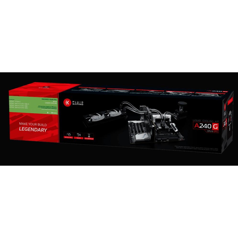 # EKWB EK Fluid Gaming A240G Water Cooling Kit # CPU & GPU
