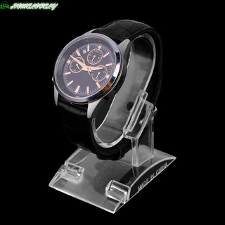 Jew Acrylic Clear Watch Bracelet Bangle Showcase Display Holder
