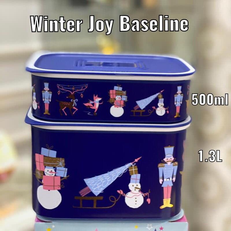 TUPPERWARE WINTER JOY BASELINE SET
