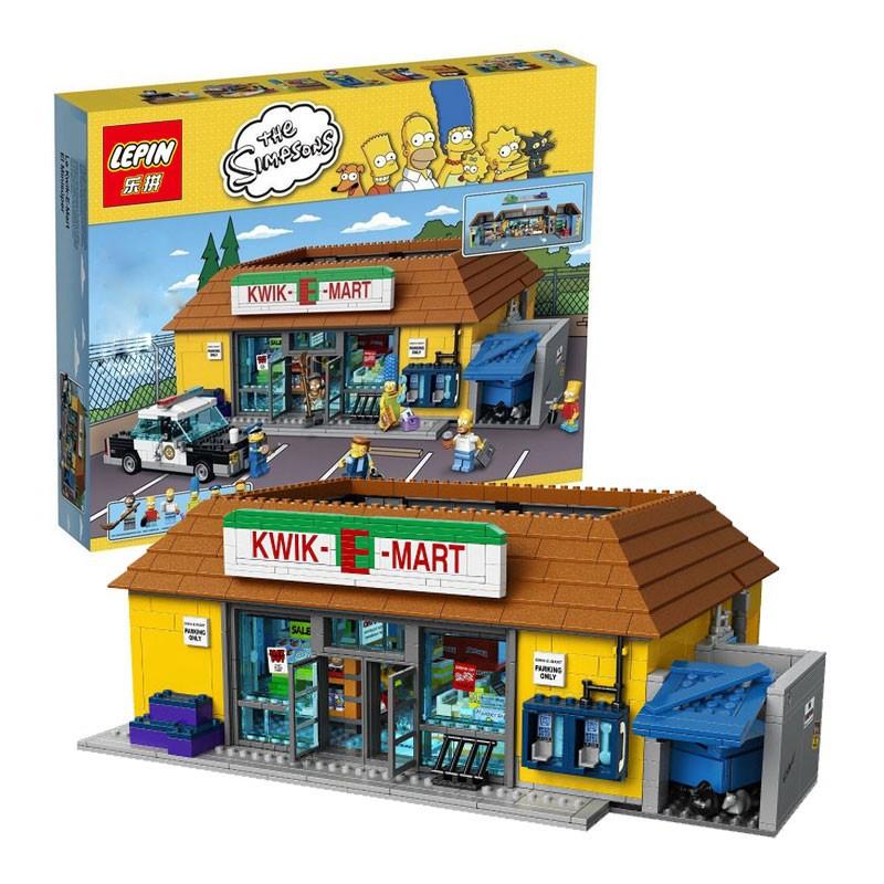 728571b193a4 LEPIN The Simpsons: The Kwik E-Mart 16004