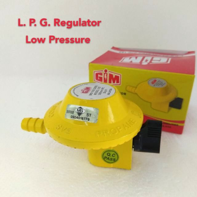 Pala Gas / Regulator Gas Low Pressure - GIM-182