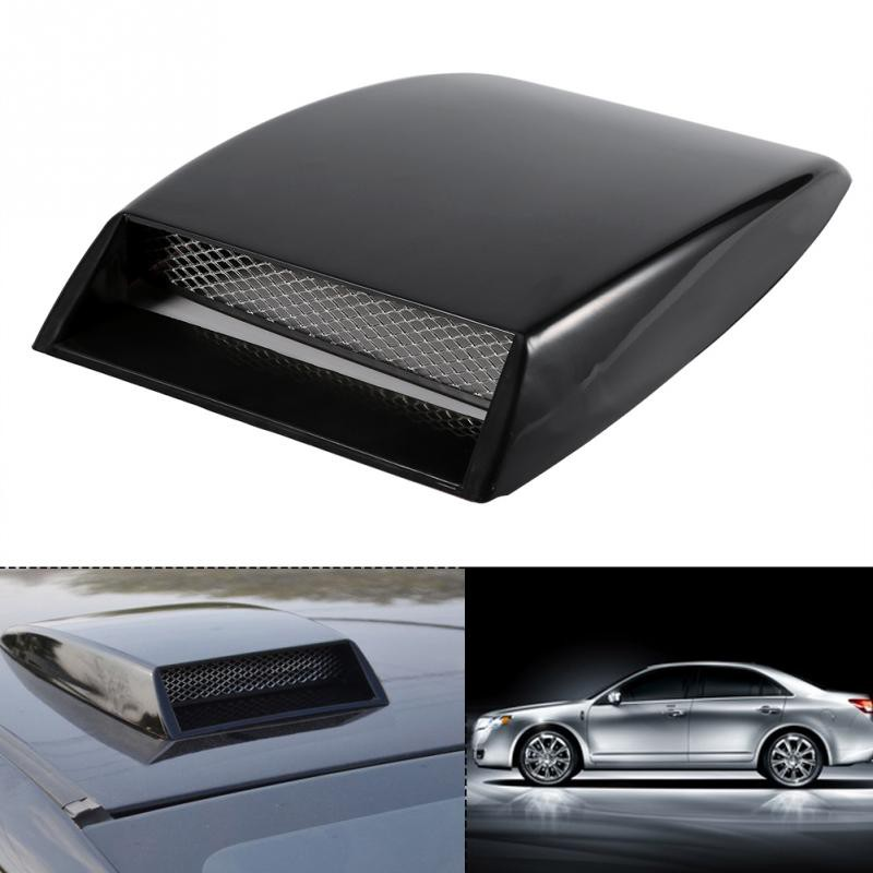 bb95869373a6 Universal Car Decorative Air Flow Intake Scoop Bonnet Vent Sticker Cover  Hood